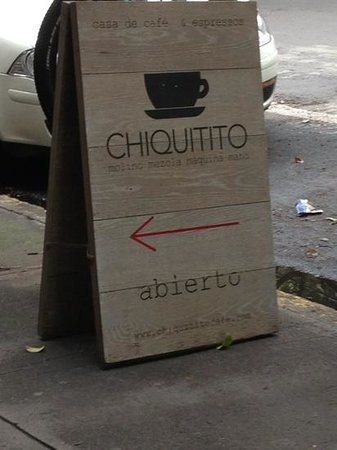 Chiquitito Cafe : it's the little things.