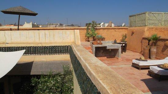 Riad Zahr: Terrace