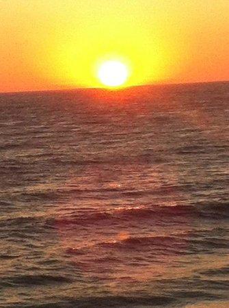 Laguna Riviera Beach Resort: View from a pier...
