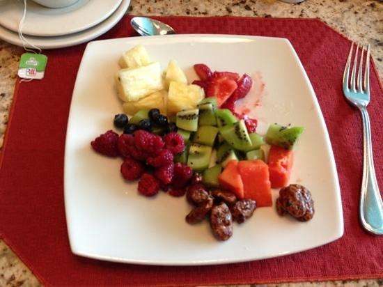 Crowne Plaza Hotel Villahermosa: Fruits au petit déjeuner