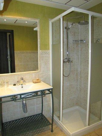 Hotel Posada Del Toro: Lavabo y ducha