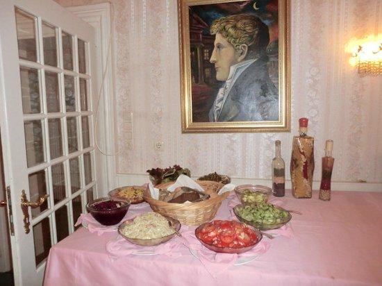 Hotel zum Schwan: Frühstücksbuffet