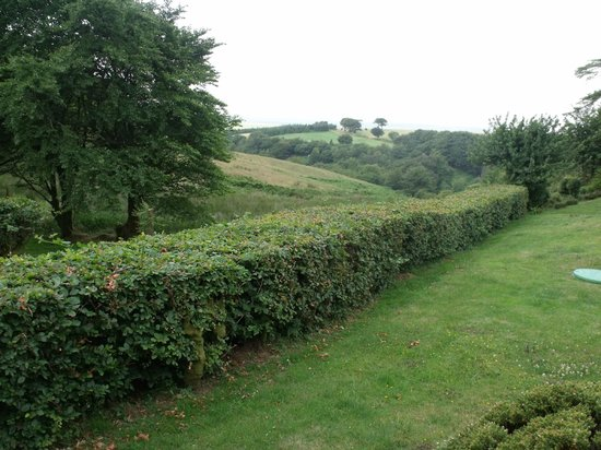 The Culbone Stables Inn: View from private patio