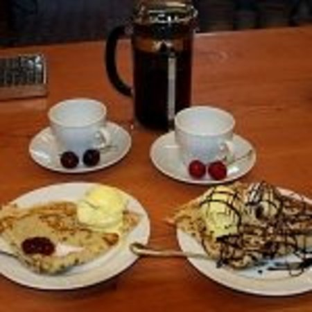 Cafe Slusegaard: Anjas Pandekager