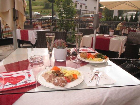 Alpen-Herz: brunch