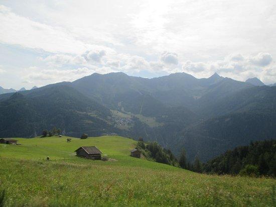 Alpen-Herz: panorama dal balcone
