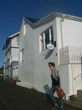 Egils Guesthouse: Das Haus
