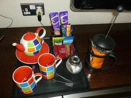 The Hampshire Hog: Coffe and tea facillities
