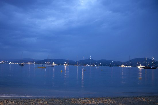 Pearl Beach : View from the beach in the evening