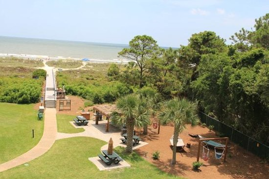 Ocean View at Island Club: Playground and picnic area
