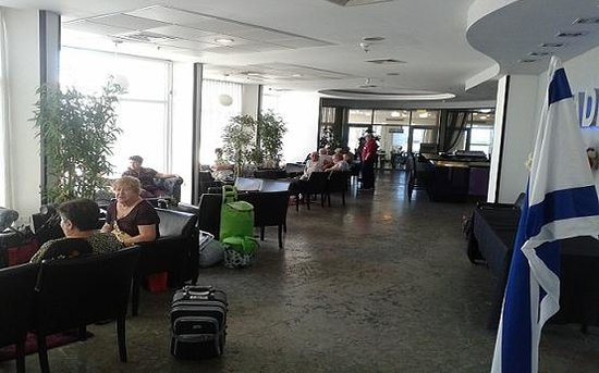 Madison Hotel Nahariya: hotel Lobby