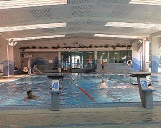 Madison Hotel Nahariya: Indoor Swimming Pool
