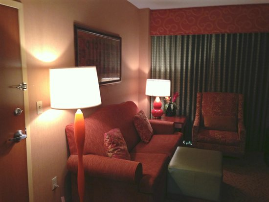 Embassy Suites by Hilton Omaha-La Vista/Hotel & Conference Center: Living area