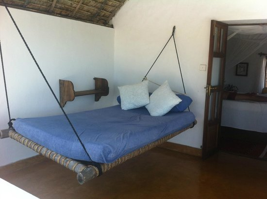 Peponi Hotel: Our double wide hammock
