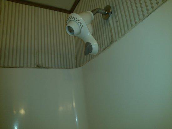 Ramada Portland Airport: Shower wall falling apart