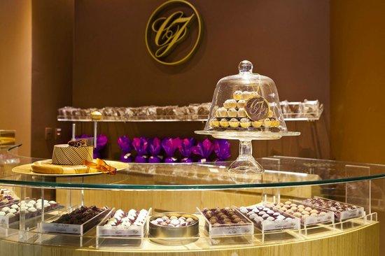 Chocolat du Jour: Balcão de produtos