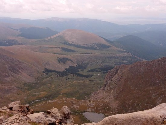 Mount Evans Scenic Byway: The Top