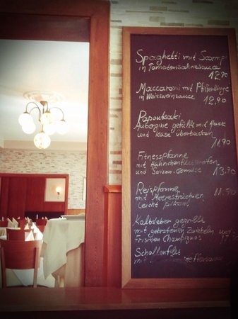 Taverna Kamiros: Tagesgerichte