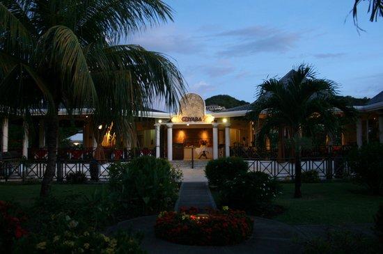 Coyaba Beach Resort : To the bar area