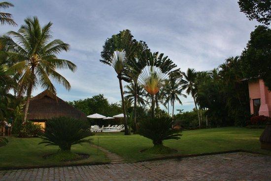 Villas de Trancoso Hotel : jardim