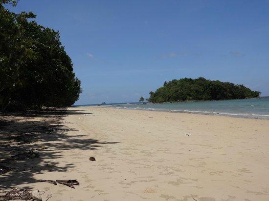 Nakamanda Resort & Spa : plage devant l'hotel