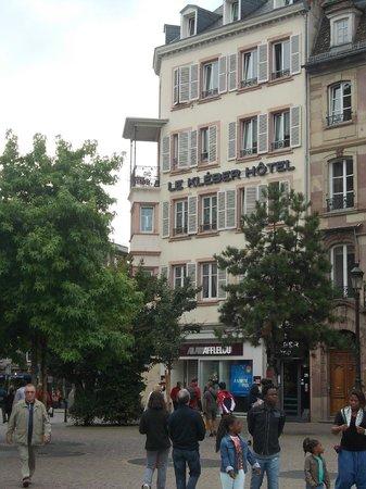 Le Kleber Hotel : facciata