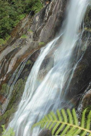 Aber Falls: waterfall