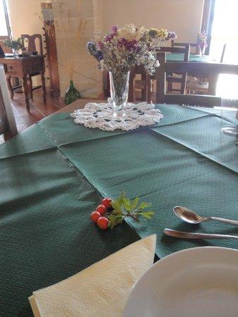 Agriturismo Saccollino: Tavolo