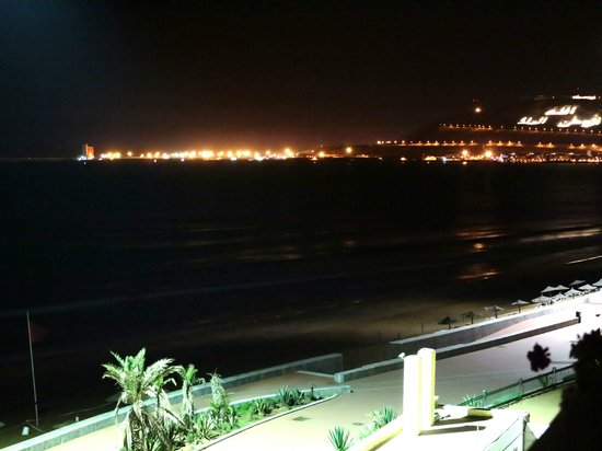 Hotel Riu Tikida Beach: vistas nocturnas