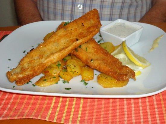 Cafe-Restaurant Flora: 'Fish & Chips' - Flora Style