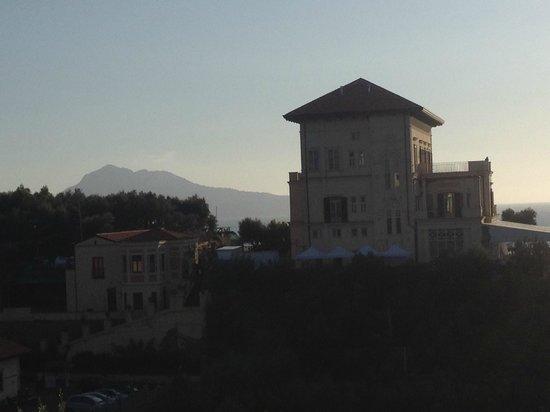 Villa Lubrense: Vista di Capri sullo sfondo