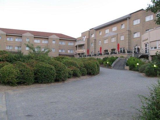 Domein Westhoek : Uitzicht van het domein  hotel)