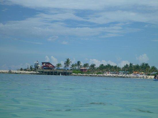 Castaway Cay: vista de la isla