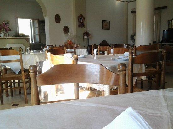 Adonis Hotel: la sala della colazione