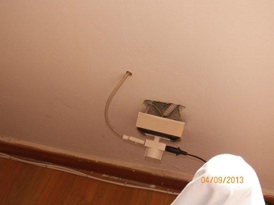 Baia dei turchi: Camera_impianto elettrico