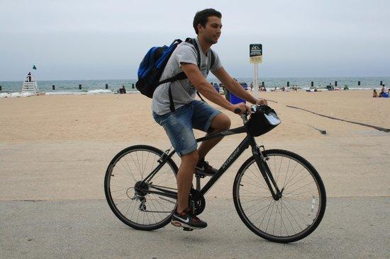 Lincoln Park : in bici nel Lincoln  parco