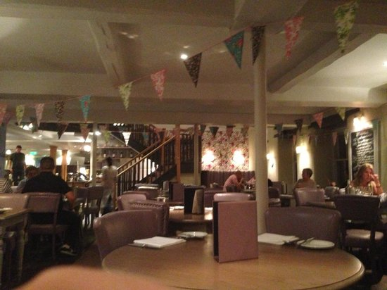 Swan Hotel & Spa: Dining area