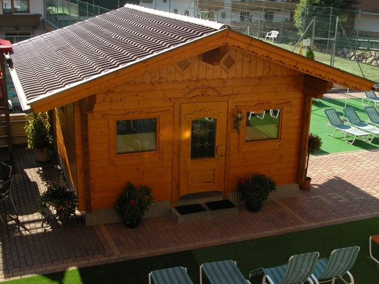 Hotel Alpenhof: un des saunas
