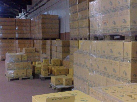Donnafugata: Affinamento in bottiglia