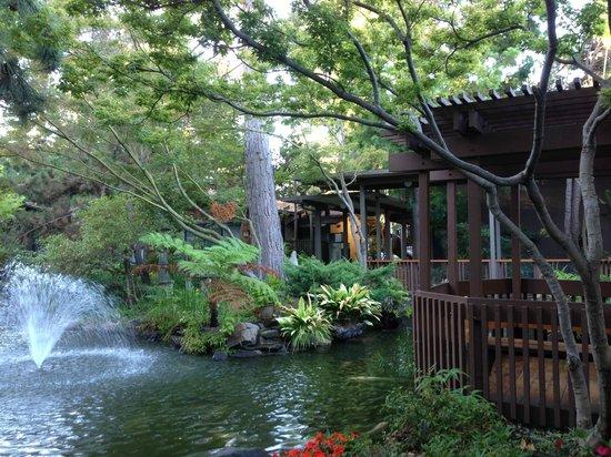 Dinah's Garden Hotel: Gardens