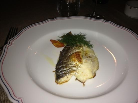 Leonardo Hotel Milan City Center: fish!