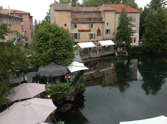 Les Terrasses du Bassin: view from room 1 balcony