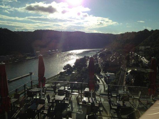Romantik Hotel Schloss Rheinfels: Blick aus dem Restaurant