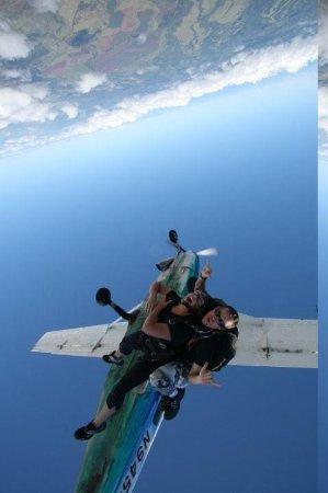 Here we go!! - Picture of Skydive Hawaii, Oahu - TripAdvisor