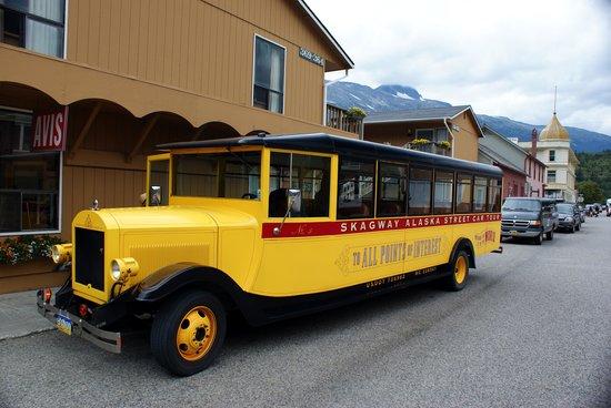 Skagway Street Car Tour: Streetcar