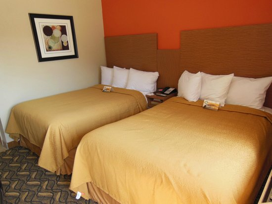 Quality Inn & Suites Six Flags Area: Guest Bed Room