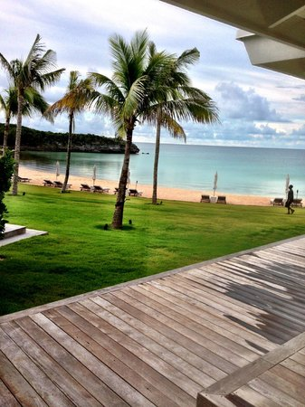 The Cove Eleuthera: A side view from our room.