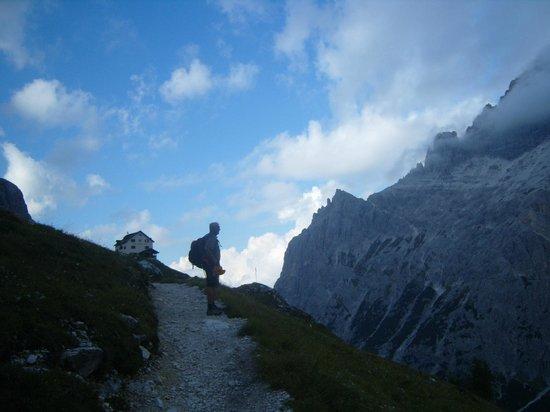 Zsigmondy Hutte - Rifugio Comici : Sul Sentiero degli Alpini