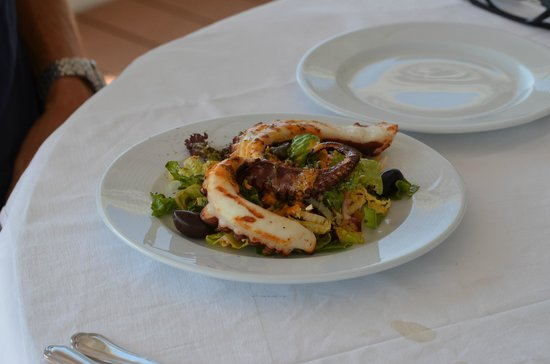 The Taverna: Octopus