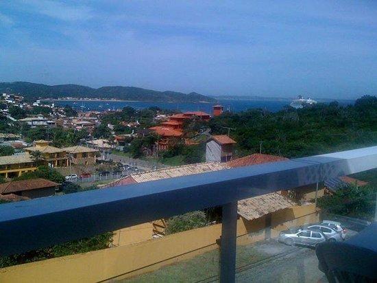 Almar Búzios Pousada: Vista desde el balcon.